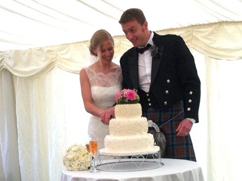 Inverhall Marquees are ideal for weddings!